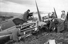 Heinkel 111 downed in Britain.