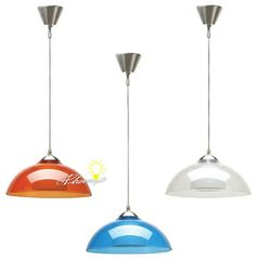 Modern Depolished Glass Inside and Multi colorful Pmma Outside Pendant Lighting - contemporary - Pendant Lighting - New York - PHOENIX LIGHT...