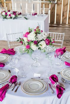 Aspiring appraised quinceanera party center pieces view publisher site – - New Site Fuschia Wedding, Hot Pink Weddings, Floral Wedding, Wedding Colors, Wedding Flowers, Wedding Dresses, Wedding Table Centerpieces, Wedding Decorations, Wedding Ideas