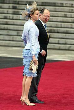 Prince Kardam of Bulgaria and his wife, Miriam Ungria.