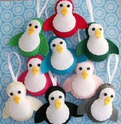 Probably going to have to have a penguin theme Christmas tree one year