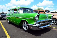 1957 Chevy Bel Air Station Wagon ★。☆。JpM ENTERTAINMENT ☆。★。