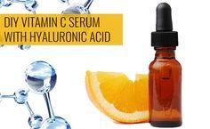 Vit c serum DIY Vitamin C Serum with Hyaluronic Acid – Sugar&Fluff Article Physique: The New 12 mont Face Serum Diy, Diy Vitamin C Serum, Vitamin C Powder, Hyaluronic Serum, Diy Lip Balm, Diy Skin Care, Skincare, Esthetics Room, Vitamin E
