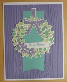 Wonderous Wreath  www.stampingwithlinda.com Make sure to check out my Stamp of the Month Kit Linda Bauwin – CARD-iologist  Helping you create cards from the heart.