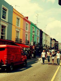 Portobello Road Notting Hill, London via flickr