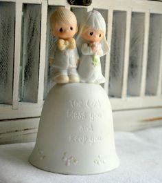 Vintage 1980's Precious Moments Collectable by MySongsDesigns, $40.00