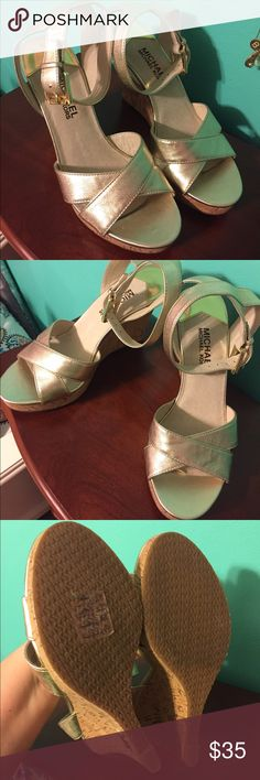 Michael Kors wedges Wonderful condition and 100% authentic Michael Kors Shoes Wedges