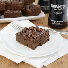 Guinness Brownies...perfect for St. Patrick's Day!