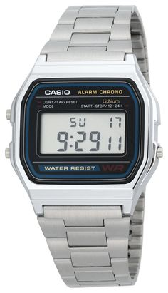 Casio Men's A158W-1 Classic Digital Bracelet Watch: Watches: Amazon.com