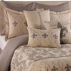 Fleur De Lis Comforter Set - BedBathandBeyond.com