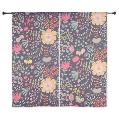 "Floral 60"" Curtains on CafePress.com"