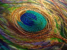 Nicky Perryman Textile Art by Nicky Perryman, via Flickr #embroideryt #needle work #@Af's 27/4/13