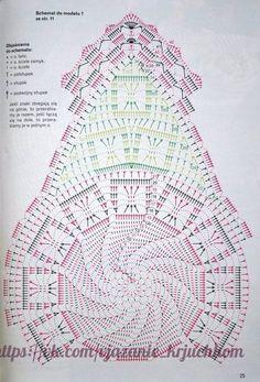 Delicadezas en crochet Gabriela: Camino de mesa ovalado