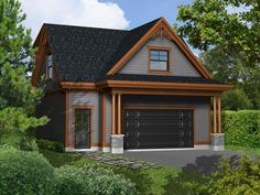 Carriage House Plan, 072G-0036
