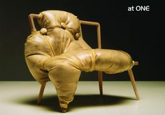 Obese chair by Charlotte Kingsnorth
