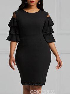 Ankara Short Gown Styles, Short African Dresses, Lace Dress Styles, Short Gowns, Latest African Fashion Dresses, African Print Dresses, Office Dresses For Women, Office Fashion Women, Workwear Fashion