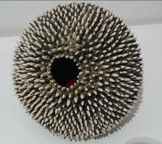 Ceramic sculpture by Eliane Monnin