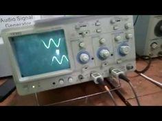 Cara Melakukan Pengukuruan SInyal Input/Output Amplifier dengan Osiloskop