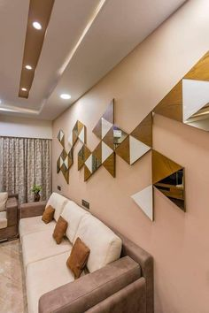 10 Portentous Useful Ideas: False Ceiling Design Corridor false ceiling hall decorating ideas.False Ceiling Design For Bar false ceiling living room square.False Ceiling Luxury Home Theaters. Ceiling Design Living Room, False Ceiling Living Room, False Ceiling Design, Living Room Interior, Living Room Designs, Living Room Decor, Office Ceiling Design, Home Interior, Living Rooms