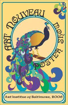 Google Image Result for http://fc06.deviantart.net/fs10/i/2006/076/f/7/Peacock_Art_Nouveau_by_TrueCelticHeart.jpg