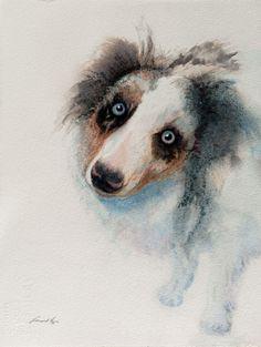 ArtRoster - leonard brown, watercolor