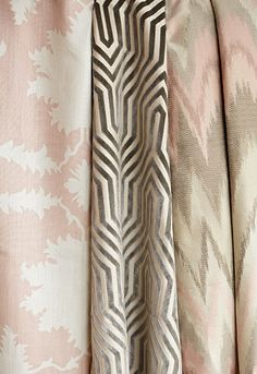 Mary McDonald | Prints, Wovens and Trimmings | Schumacher  master bedroom combo