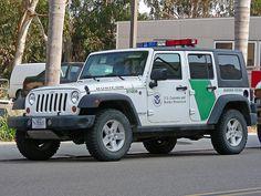 Jeep Wrangler Unlimited Border Patrol vehicle.#jorgenca