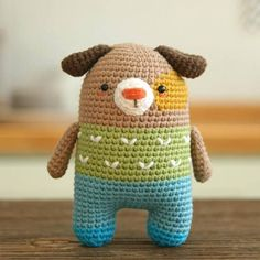 dog crochet pattern -amigurumi - symbol pattern - plush #affiliate