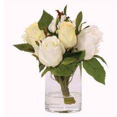 Rosebud Stateroom Bouquet Yacht Silks Arrangement