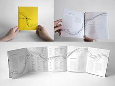 Creative Brochure Design Samples for Inspiration Brochure Folds, Brochure Examples, Creative Brochure, Brochure Design Samples, Graphic Design Brochure, Booklet Layout, Booklet Design, How To Make Brochure, Brochure Design Inspiration