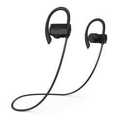 Phaiser BHS-430 Bluetooth Headphones, Sweatproof Wireless Earbuds For Working Out w\ Mic, Stereo Earphones for Exercise & Gym, Cordless Sport Headset - Blackout. PLAY ALL DAY - Crisp Bluetooth 4.1 HD Audio and 7-hour battery life will have you jamming from your morning commute until your evening workout. YOURS EARS, YOUR FIT - Multi-size attachments, a pair of Comply T-400 M memory foam eartips and comfortable over ear hooks will keep your buds in place and your tunes pumping during even…
