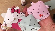 Easy Cat Bookmark (Hello Kitty, Kawaii Kitten, Kitten, Paper Crafts) #Re...
