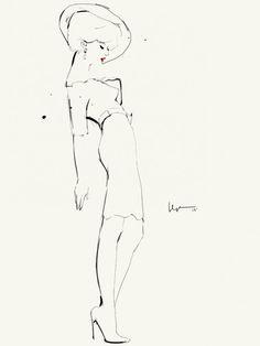 The Fashion Illustrations of Floyd Grey « Beautiful/Decay Artist & Design