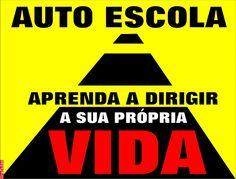 Grafados: Auto Escola - Aprenda a dirigir a sua própria vida (Driving School - Learn to drive your own life)  #vida #direção #semRumo #life