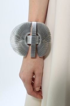 Sculptural Bangle - wearable art; contemporary jewellery design // Leonard Kovner