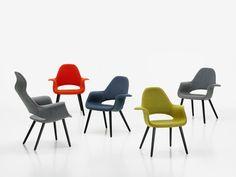 Organic Chair & Organic Highback, Charles Eames & Eero Saarinen - 1940 [Vitra]