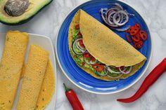 Las 19 mejores recetas con harina de garbanzos para reducir carbohidratos y sumar proteínas a tu dieta Snacks Saludables, Crepes, Cooking, Ethnic Recipes, Cilantro, Gluten Free Recipes, Parsley, Garlic, Meals