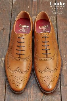 ed7b0b67dc1 Add a statement shoe to your formalwear collection with these stylish Tan  Loake Brogues from Next.