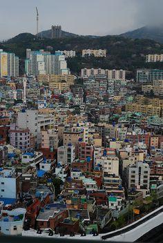 Pusan City. South Korea