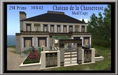Chateau de la Chassesreese | Coeur Virtual Worlds