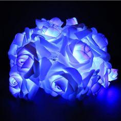 Romantic 2m Flower Rose Shape Home Garden Christmas Wedding Party Decoration…