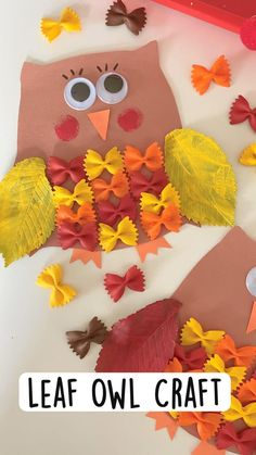 Fall Crafts For Kids, Thanksgiving Crafts, Holiday Crafts, Kids Crafts, Daycare Crafts, Classroom Crafts, Fall Preschool Activities, Preschool Crafts, Toddler Art