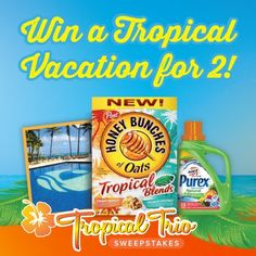 Saving 4 A Sunny Day: Tropical Trio Sweepstakes