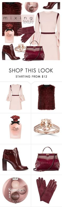 """""""Mixing"""" by cilita-d ❤ liked on Polyvore featuring Roksanda, Theory, Dolce&Gabbana, Bliss Diamond, Tory Burch, Aspinal of London, Bourjois and John Lewis"""