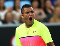 1/25/15  Via TennisAustralia:  He does it!!!!! #NickKyrgios wins an epic 5-set battle with #Seppi 5-7 4-6 6-3 7-6(5) 8-6! #AustralianOpen #AusOpen