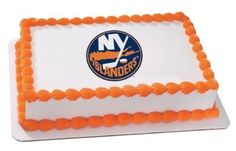 18 Sheet  NHL New York Islanders Birthday  Edible Image CakeCupcake Topper ** More info could be found at the image url.