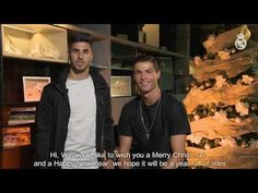 Video Merry Christmas from Cristiano Ronaldo and Asensio!