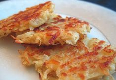 Crispy Potato Cakes - I'll try this with sweet potatoes and add some zucchini. I'll use oat or gluten free flour for our intolerance.