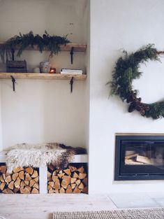 Renovation Diary: Our Living Room and Fireplace Revamp — Malmo & Moss Old Fireplace, Concrete Fireplace, Fireplace Remodel, Living Room With Fireplace, Fireplace Surrounds, Fireplace Ideas, Fireplaces, Simple Fireplace, Mantle