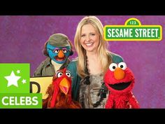 Sesame Street: Sarah Michelle Gellar is Disappointed - YouTube